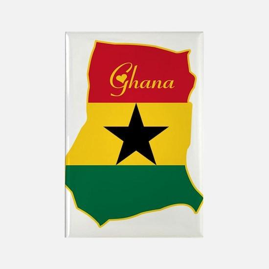 Cool Ghana Rectangle Magnet