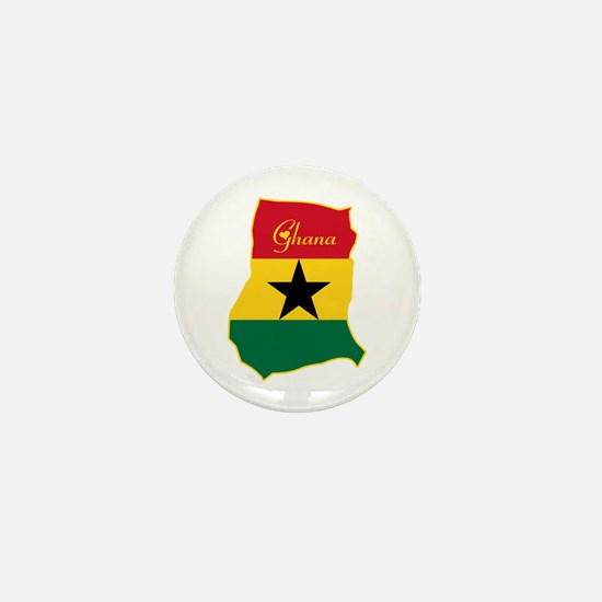 Cool Ghana Mini Button