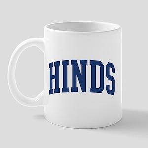 HINDS design (blue) Mug