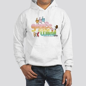 Grease Is the Word Hooded Sweatshirt