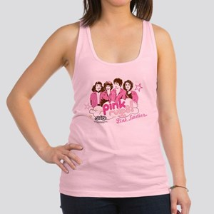 Grease - Pink Rules Racerback Tank Top
