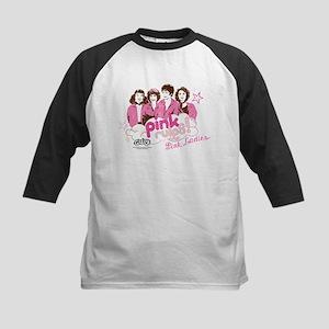 Grease - Pink Rules Kids Baseball Jersey