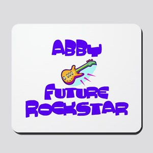 Abby - Future Rock Star Mousepad
