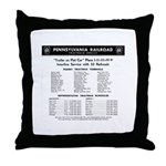 PRR TrucTrain Service Throw Pillow