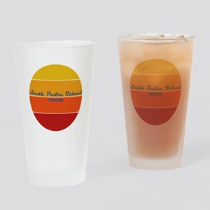 Texas - South Padre Island Drinking Glass