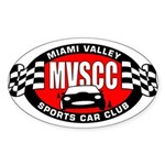 MVSCC Logo Oval Sticker