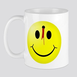 Shot Smiley Mug