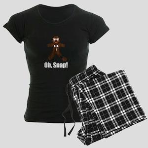 Oh Snap Gingerbread Pajamas