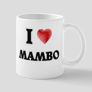 I Love Mambo Mugs