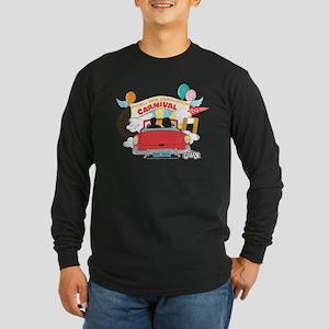Grease - Carnival Long Sleeve Dark T-Shirt