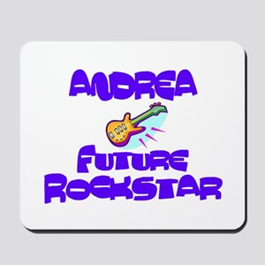 Andrea - Future Rock Star Mousepad
