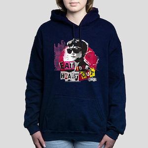 Grease - Eat Your Heart Women's Hooded Sweatshirt
