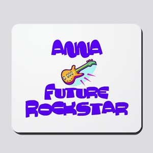 Anna - Future Rock Star Mousepad