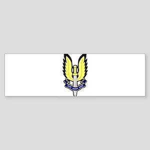 SAS Badge Bumper Sticker