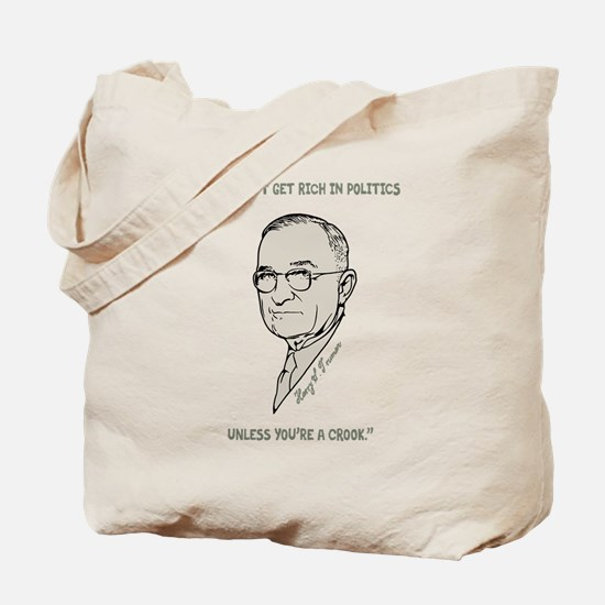 Truman - Corruption Tote Bag