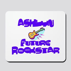 Ashlyn - Future Rock Star Mousepad