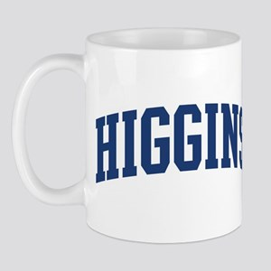 HIGGINS design (blue) Mug