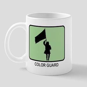 Color Guard (GREEN) Mug