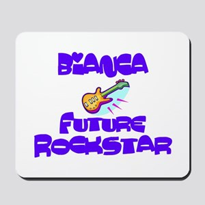 Bianca - Future Rock Star Mousepad