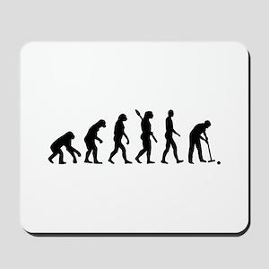 Evolution croquet Mousepad