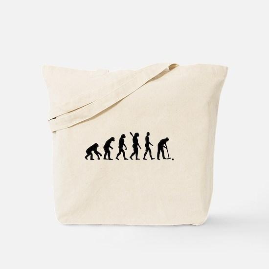 Evolution croquet Tote Bag