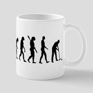 Evolution croquet Mug
