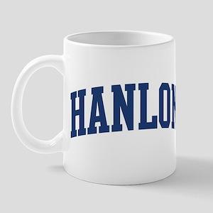 HANLON design (blue) Mug