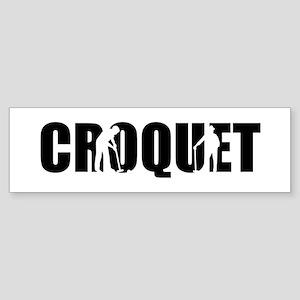 Croquet Sticker (Bumper)