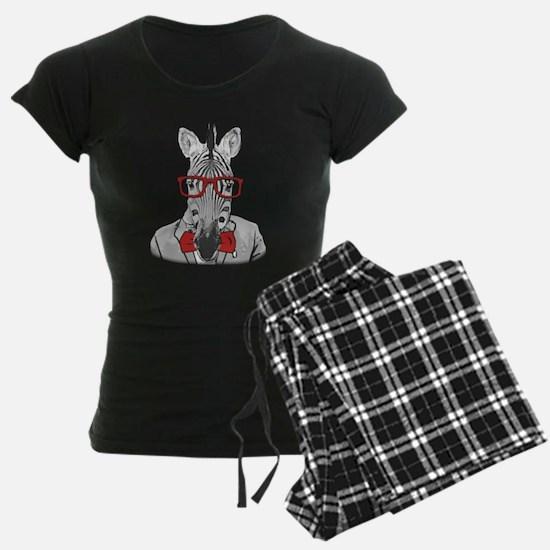 Hipster Zebra Pajamas