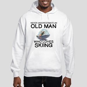 WATER SKIING. NEVER UNDERESTIMA Hooded Sweatshirt