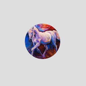 Horse Painting Mini Button