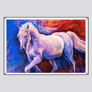 Horse Painting Banner