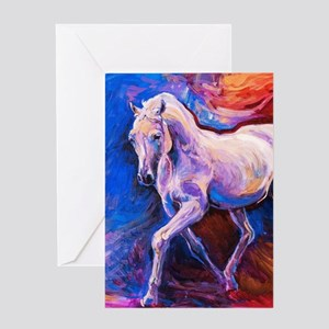 Horse Painting Greeting Cards