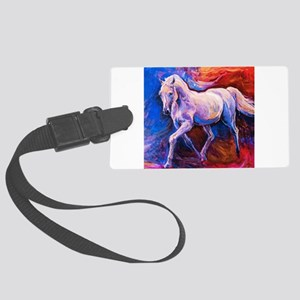 Horse Painting Luggage Tag