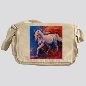 Horse Painting Messenger Bag