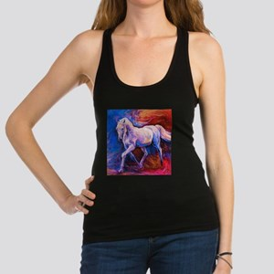 Horse Painting Racerback Tank Top