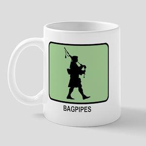 Bagpipes (GREEN) Mug