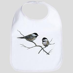 chickadee song birds Bib