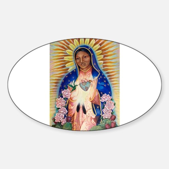 Virgin Mary - Our Lady Of Guadalupe Decal