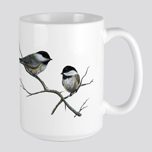 chickadee song birds Mugs