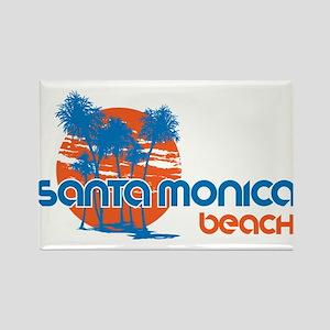 Santa Monica Beach, California Magnets