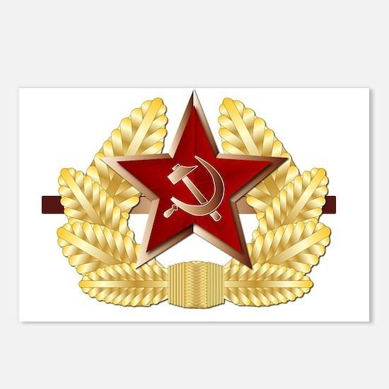 Unique Communist Postcards (Package of 8)