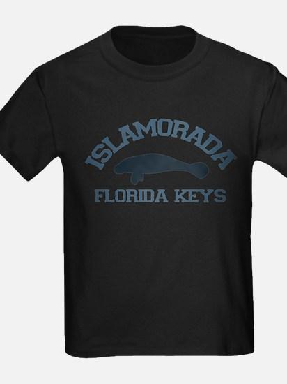 Islamorada - Manatee Design. T-Shirt