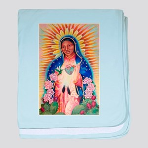 Virgin Mary - Our Lady Of Guadalupe baby blanket