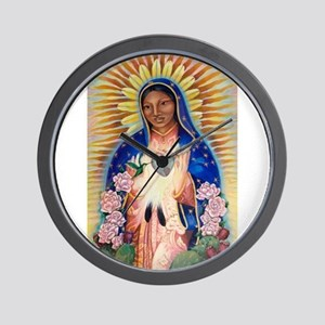 Virgin Mary - Our Lady Of Guadalupe Wall Clock