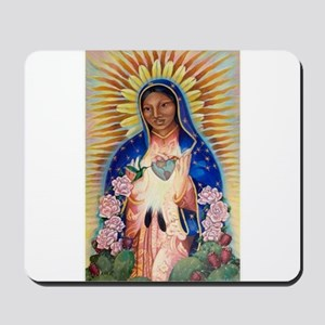 Virgin Mary - Our Lady Of Guadalupe Mousepad