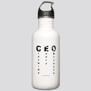CEO Crushing Every Obstacle Water Bottle