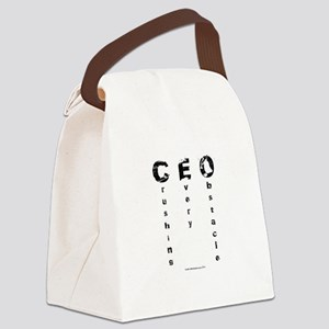CEO Crushing Every Obstacle Canvas Lunch Bag