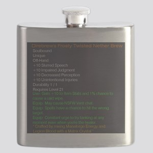 Direbrew's Frosty Twisted Nether Brew Flask