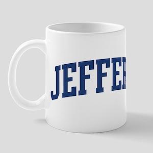 JEFFERY design (blue) Mug